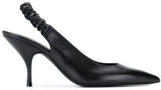 Bottega Veneta Sling-Back Pointed Pumps