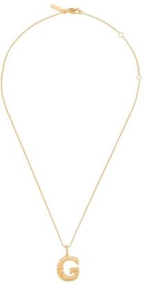Chloé letter G pendant necklace