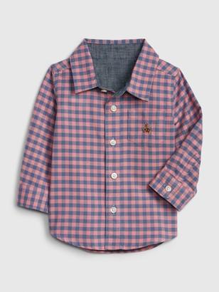 Gap Brannan Bear Oxford Double-Weave Shirt