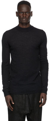 Rick Owens Black Level Mock Sweater