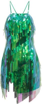ATTICO Embellished minidress