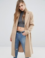 Miss Selfridge Midi Belted Coat