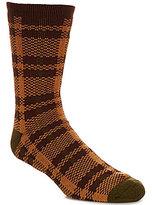 UGG Plaid Jacquard Crew Socks