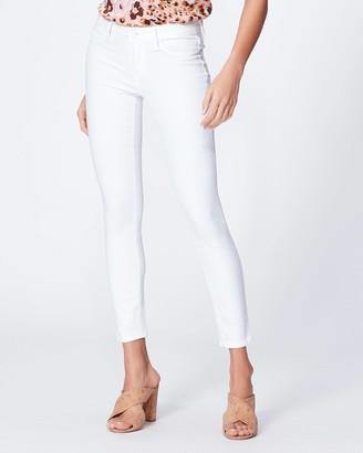 Paige Verdugo Crop Faux Pockets-Vivid White