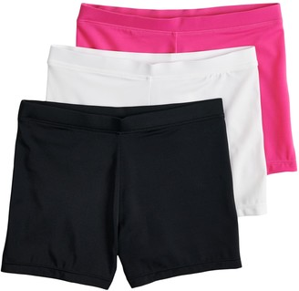Girls 4-12 Playground Pals 2-pack + 1 Bonus Bike Shorts