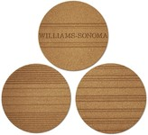 Patterned Cork Trivet , Set of 3