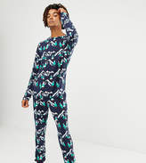 Chelsea Peers Christmas Snowy Mountain pyjama set