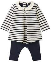 Petit Bateau Baby girls leggings dress