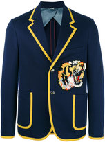 Gucci Bengal appliqué blazer - men - Cotton - 48