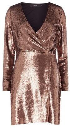 Dorothy Perkins Womens Vero Moda Copper Wrap Mini Dress