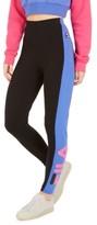 Fila Macarena Striped High-Waist Leggings