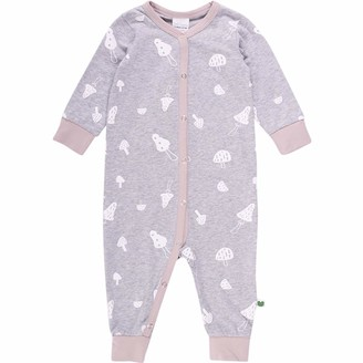 Fred's World by Green Cotton Baby Girls' Mushroom Bodysuit Toddler Sleepers