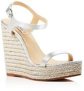 Badgley Mischka Clea Espadrille Wedge Sandals