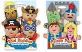 Melissa & Doug Bold Buddies & Palace Pals Hand Puppet Adventure Set
