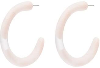 Dinosaur Designs medium hoop earrings