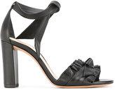 Alexandre Birman ruffle trim sandals
