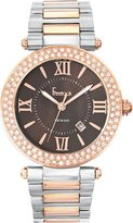 Freelook Unisex HA1542MRG-2 Cortina XL Oversized Analog Two Tone Roman Numeral Dial Watch