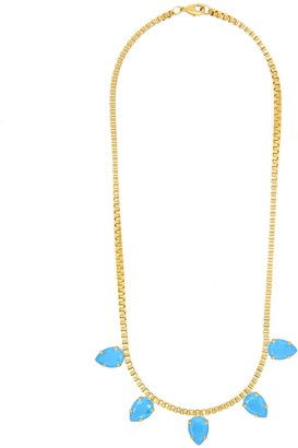 Rosaspina Firenze Azure Blue Five Drops Necklace