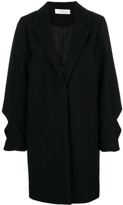 Victoria Victoria Beckham Ruffled Coat