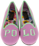 Polo Ralph Lauren Orchid & Green Jayde II Loafer - Little Kid & Big Kid