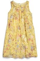Gucci Girl's Floral Silk Dress
