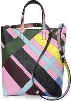 Emilio Pucci Multicolor Leather Tote