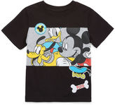 DISNEY BY OKIE DOKIE Disney By Okie Dokie Mickey Mouse Graphic T-Shirt-Toddler Boys
