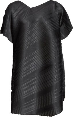 Pleats Please Issey Miyake Musical Score Pleated Top