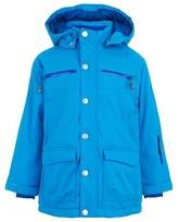 Mini A Ture Blue Hooded Matt Ski Jacket
