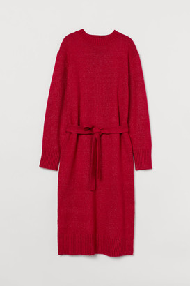 H&M Knit Dress - Red