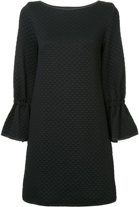 Osman Quilted Shift Dress
