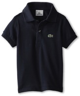 Lacoste Kids - Short Sleeve Classic Pique Polo Shirt Boy's Short Sleeve Pullover