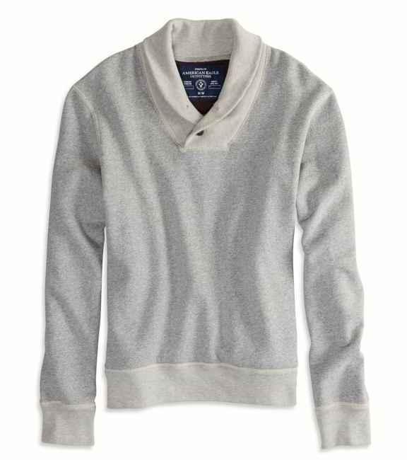 American Eagle AE Shawl Sweatshirt