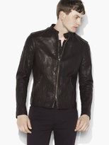 John Varvatos Studded Leather Jacket