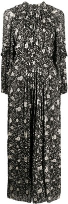 Etoile Isabel Marant Estine floral print long dress