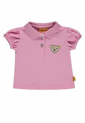 Steiff Baby Girls' Poloshirt 1/4 Arm Polo Shirt