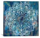 iCanvas Mandala in Blue II (Canvas)