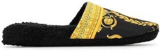 Versace Home Medusa Barocco house slippers