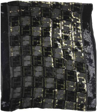 Fendi Black Velvet Scarves