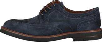Eleventy Men's Suede Lace Up Shoe