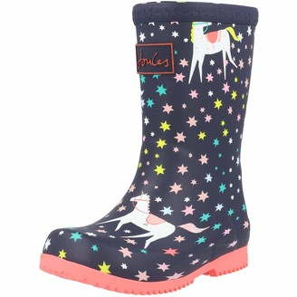 Joules Baby Girls Roll Up Welly Boot