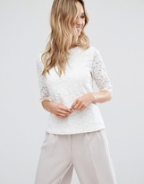 Sugarhill Boutique Darcie Lace Top