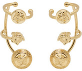 Versace Gold Medusa Multi Cuff Earrings