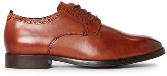 Cole Haan British Tan Jefferson Leather Derby Shoes