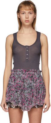 Isabel Marant Black Louisali Tank Top