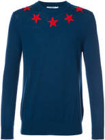 Givenchy star appliqué jumper