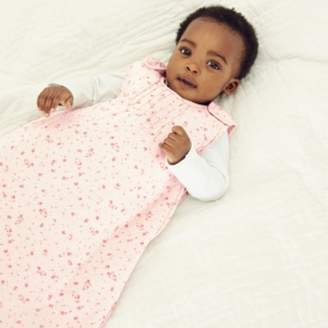 The White Company Floral Sleeping Bag - 2.5 Tog, Pink, 6-18mths