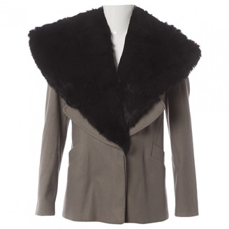 Givenchy Beige Rabbit Coat for Women