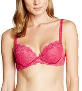 Aubade Women's L'amour Push-Up Bra,32C (Manufacturer Size: 85C)