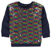 George Swipe Sequin Sweatshirt